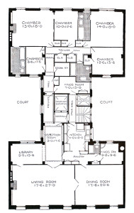 Combined Apartments Floorplan